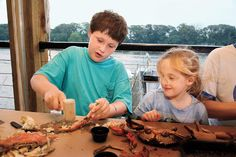 3: Visit an Authentic Crab Shack - 12 Ultimate Trips for Kids - Southernliving. Fresh blue crabs are an iconic Southern food, right up there with barbecue and sweet tea. For the freshest, head to Maryland. We like Cantler's Riverside Inn in Annapolis, which has been around for more than 30 years and offers fresh catch all year.www.cantlers.com     Only in the South…can you race crabs (National Hard Crab Derby in Crisfield, Maryland, on Labor Day weekend).