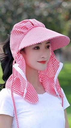 Cute Red Face Cover Scarf With Cap (Must-have) Diwali Fashion, Kids Fashion, Easy Face Masks, Diy Face Mask, Face Jewellery, Head Scarf Styles, Red Face, Batik Fashion, Fashion Design Sketches