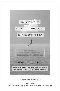 Invite Idea katie hackworth   theresa crim / photo credit dorothée brand, belathée photography
