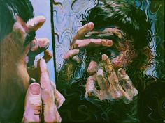 u/Fluffoide drew a painting while on LSD Art Sketches, Art Drawings, Psy Art, Arte Horror, Dope Art, Weird Art, Psychedelic Art, Grafik Design, Art Portfolio