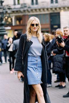 Paris Fashion Week AW 2015....Lily