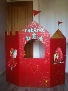théâtre princesses. Voir détails à l'intérieur pour le rangement