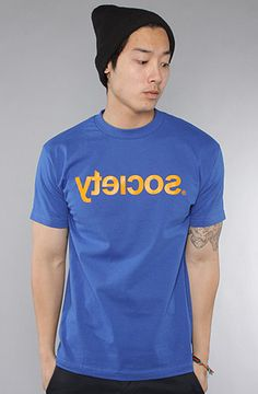 Society Original Products The Fontastic Tee in Royal Blue : Karmaloop.com - Global Concrete Culture