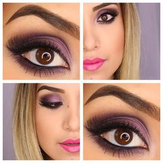 Makeup using Urban Decay Vice#3 palette
