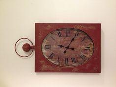Red clock!