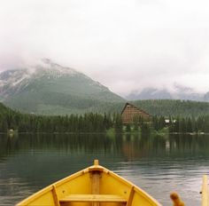 Yellow Boat Fine Art Photography High Tatras by siobhanphotography, near Grand Hotel Kempinski in Slovak Republic in High Tatras. This is a beautiful place in the heart of Europe with great hiking, skiing where you can relax.