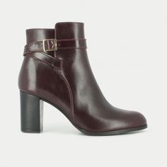 bottines bordaux jonak polido