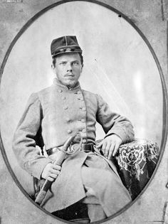 Tampa resident John Henderson was a member of Company B, 2nd Florida Infantry, during the Civil War.