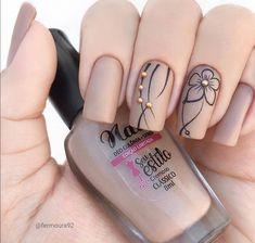 Chic Nails, Stylish Nails, Trendy Nails, Gel Nail Art Designs, Nail Art Designs Videos, Pedicure Nail Designs, Elegant Nails, Classy Nails, Nagellack Design