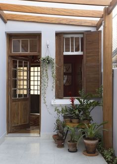 Pin on 인테리어 Loft Apartment Decorating, Narrow House, Small House Design, House Extensions, Stone Houses, House Goals, Renting A House, Home Deco, My Dream Home
