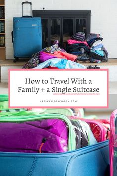Learn the best way to pack a suitcase; how to maximize space