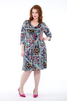 Wit & Wanderlust Dress plus size dress | Poppy & Bloom