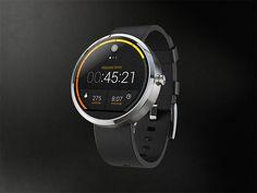 Moto 360 Fitness App Concept