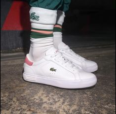 Lacoste Powercourt Lacoste, Casual Sneakers, Sneakers Nike, Polo Shirt, Model, Shirts, Fashion, Casual Trainers, Nike Tennis