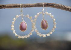 Hawaiian cowrie earrings