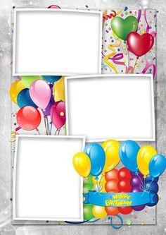 Happy Birthday Png, Birthday Charts, Birthday Posts, Happy Birthday Pictures, First Birthday Photos, Birthday Greetings, Birthday Photo Frame, Birthday Frames, Birthday Background Images