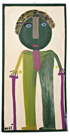 Self Portrait by Mose Tolliver