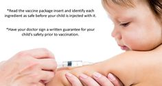 Vaccine Safety -  Killer Vaccine Ingredients Posted September 9, 2014 · Add Comment Killer vaccine ingredients and what they're doing to your child