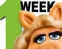 one week before the Muppet movie opened.