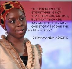 Chimamanda Ngozi Adichie is one of the best and brightest women authors writing today! #bookworm