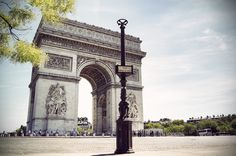 Arc of Triomphe - Paris, France