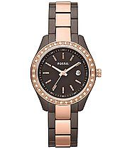 Fossil Two-Tone Watch
