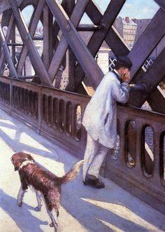 Le Pont de L'Europe - Gustave Caillebotte