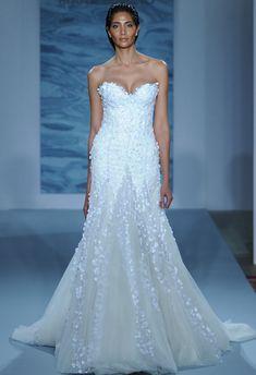 Mark Zunino Wedding Dresses Fall 2015   Maria Valentino/MCV Photo   Blog.theknot.com