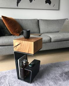 db - design bunker on More than just simple furniture. This is true art of functionality. Side Table by bakerstreetboys_london them to see