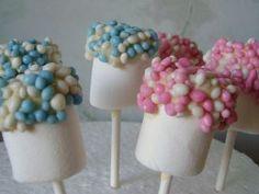 Marshmellow, muisjes - kraamfeest