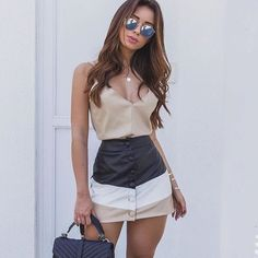 Casual summer outfits ideas for Fashion outfits Cute Fashion, Urban Fashion, Fashion Outfits, Womens Fashion, Fashion Hats, Fashion Clothes, Girly Outfits, Classy Outfits, Stylish Outfits