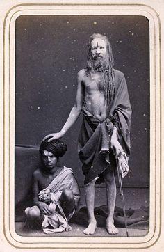 """grand-bazaar: """" Hindu Sadhu - 1870 """""""