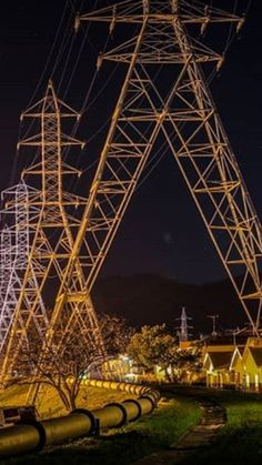 Pylons Transmission Tower, High Voltage, Infinite, Grid, Fair Grounds, Around The Worlds, Waves, Type, Building