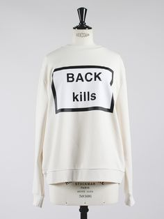 BACK kills Sweatshirt - BACK Pre Fall/Winter 2015 - APLACE Fashion Store & Magazine