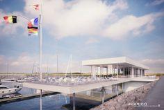 IN[AR]CO architects ontwerpt het jachthavenpaviljoen voor Cadzand-Bad