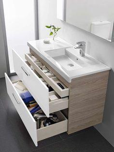 Es fundamental para poder localizar las cosas fácilmente. Este mueble para lavabo, mod. Prisma, de R... - Es fundamental para poder localizar las cosas fácilmente. Este mueble para lavabo, mod. Prisma, de R...