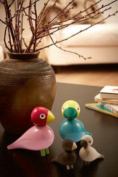 Die Spielzeuge der Kay Bojesen Familie sind mit so viel Liebe gestaltet, dass Jung und Alt Freude daran haben! http://www.flinders.de/kay-bojesen-songbird-ruth-spielzeug
