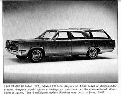 Rambler Rebel 770 wagon