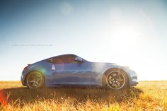 automotivated:  Nissan 370z 1, Volk Racing TE37SL (by leemiks)