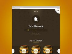 Sherlock Pub by Alexander True