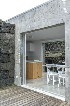 Pico Island House by SAMI Arquitectos – Design. New Architecture, Contemporary Architecture, Rural House, House Extensions, Stone Houses, Built Environment, Prefab, Old Houses, Building A House