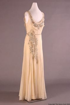 Peggy Hoyt dress ca. 1931 via The Henry Ford Costume Collection