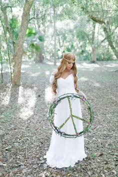 Fall Bohemian Wedding Inspiration | photo by Andi Mans Photography | 100 Layer Cake