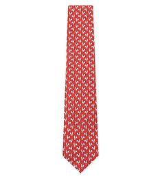 SALVATORE FERRAGAMO Rooster Silk Tie. #salvatoreferragamo #ties