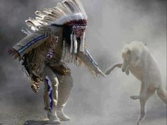 Native American Dance with Wolf Native American Wisdom, Native American History, American Indians, American Women, Native Indian, Native Art, Indian Art, Indian Wolf, Indian Music