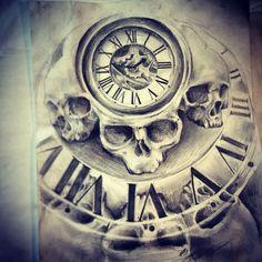 tattoo om tattoo tattoo drawing tattoo sketches hand tattoos skull ...