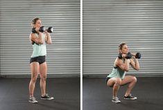 dumbbell-squats