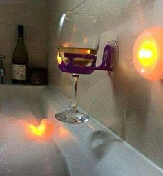 I would never leave the tub