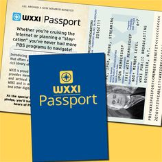 Great looking #marketing piece from @WXXIrochester in the form of a #printed #passport.