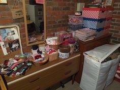 Jo Baines craft cave in my garage